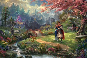 Thomas Kinkade Disney_Thomas Kinkade Disney