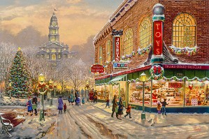 Thomas Kinkade-A Christmas Wish