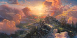 Thomas Kinkade-The Cross