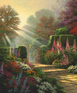 Thomas Kinkade-Garden of Grace