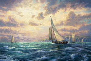Thomas Kinkade-New Horizons