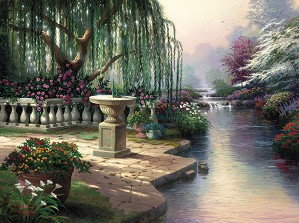 Thomas Kinkade-The Hour of Prayer
