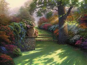 Thomas Kinkade-Pathway to Paradise
