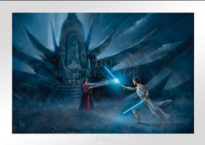 Thomas Kinkade-Rey's Awakening From Star Wars