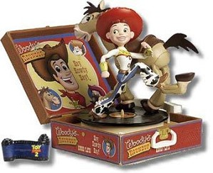 WDCC Disney Classics-Toy Story 2 Jessie Bullseye And Plaque