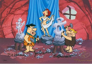 Hanna & Barbera-Art Class From The Flinstones