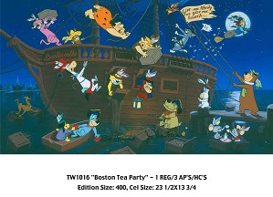 Hanna & Barbera-Boston Tea Party