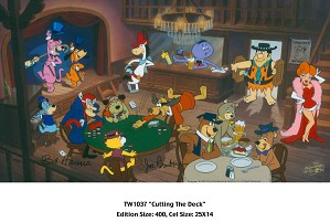 Hanna & Barbera-Cutting the Deck