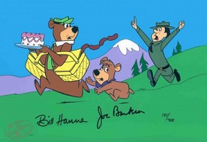 Hanna & Barbera-Escape from Ranger Smith