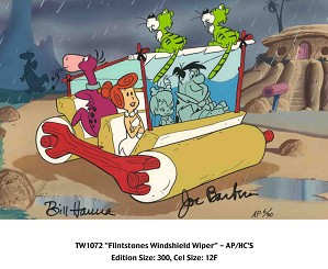 Hanna & Barbera-Flintstones Windshield Wiper From The Flinstones