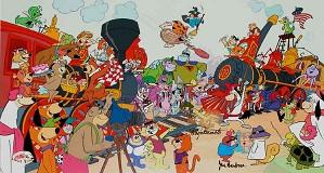 Hanna & Barbera-The Golden Spike