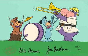 Hanna & Barbera-Huck's Band From Yogi Bear