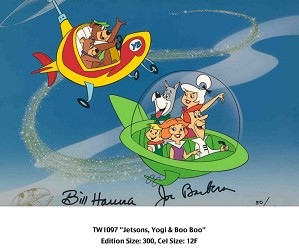 Hanna & Barbera-Jetsons, Yogi and Boo Boo