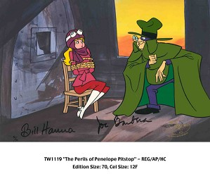 Hanna & Barbera-The Perils of Penelope Pitstop