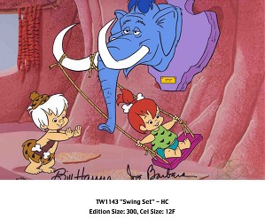 Hanna & Barbera-Swingset From The Flinstones