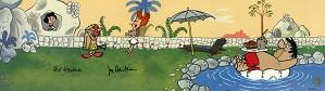 Hanna & Barbera-Swimming Pool From The Flintstones