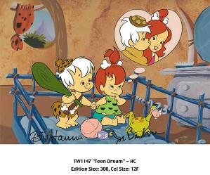 Hanna & Barbera-Teen Dream From The Flinstones