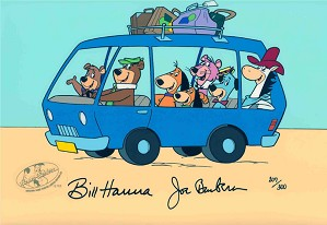 Hanna & Barbera-Yogi and Friends on a Bus