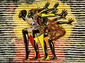 Larry Poncho Brown-Ujima  Giclee Re 12