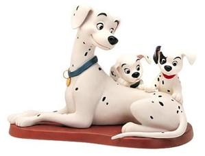 WDCC Disney Classics-One Hundred and One Dalmatians Perdita W/patch & Puppy Patient Perdita