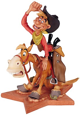 WDCC Disney Classics-Melody Time Pecos Bill