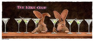 Will Bullas-The Hare Club... Limited Edition Canvas
