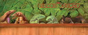 Will Bullas-The Lizard Lounge Limited Edition Canvas