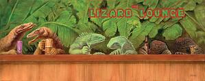 Will Bullas-The Lizard Lounge Masterwork Canvas Edition