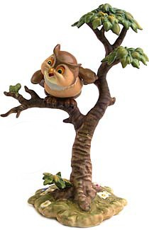 WDCC Disney Classics-Bambi Friend Owl What's Going On Around Here