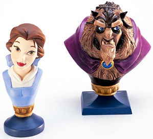 WDCC Disney Classics-Beauty And The Beast Belle And  Beast