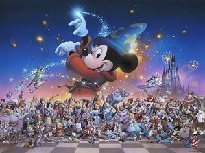 Disney Artist Tsuneo Sanda