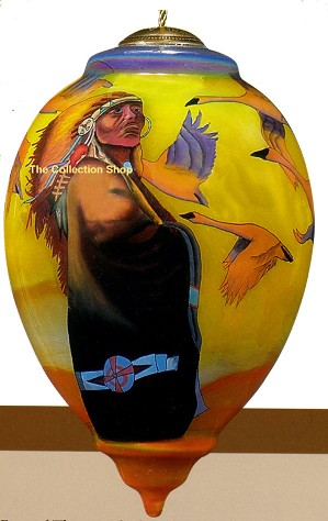 Thomas Blackshear Neqwa-Swan Song  Neqwa Ornament