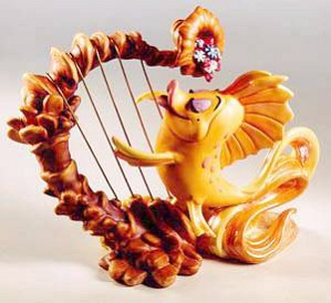 WDCC Disney Classics-The Little Mermaid Carp Classical Carp