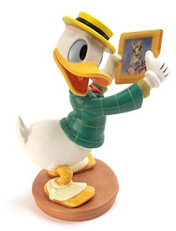WDCC Disney Classics-Mr Duck Steps Out Donald Duck With Love From Daisy