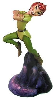 WDCC Disney Classics-Peter Pan Nobody Calls Pan A Coward