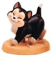 WDCC Disney Classics-Pinocchio Figaro Say Hello To Figaro