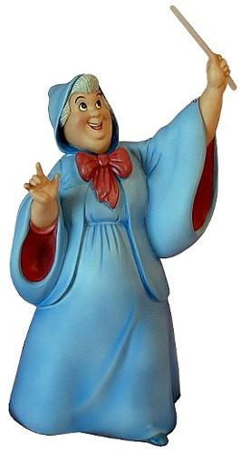 WDCC Disney Classics-Cinderella Fairy Godmother Bibbidi Bobbidi Boo