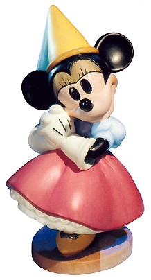 WDCC Disney Classics-Brave Little Taylor Minnie Mouse Princess Minnie