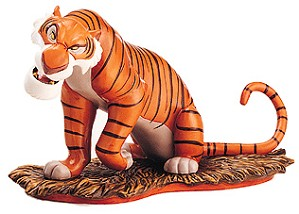 WDCC Disney Classics-The Jungle Book Shere Khan Every One Runs From Shere Khan (event Sculpture)