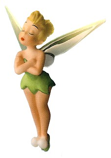 WDCC Disney Classics-Peter Pan Tinker Bell Ornament