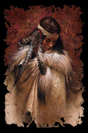 Lee Bogle-Winter Maiden Artist Proof Hand Enhanced