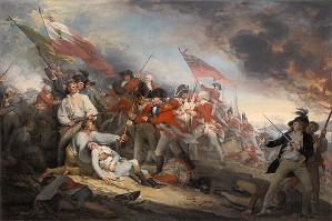 John Trumbull-The Battle of Bunker´s Hill, June 17, 1775