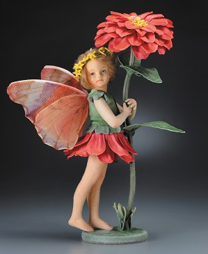 R. John Wright-Zinnia Fairy