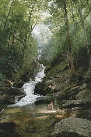 Phillip_Philbeck-Altar Of The Forest By Phillip Philbeck Giclee On Canvas  Signed & Numbered