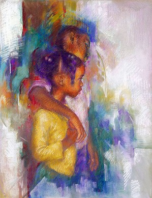 Brenda Joysmith-Big Brother Giclee