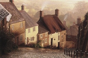 Rod Chase-Blackmore Vale By Rod Chase Giclee On Canvas  Grande Edition
