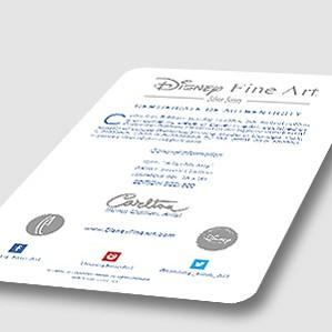 Disney Silver Series Limited And Certifeid Disney Art