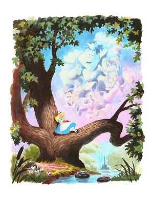 Mike Peraza-Day Dreams Giclée On Paper