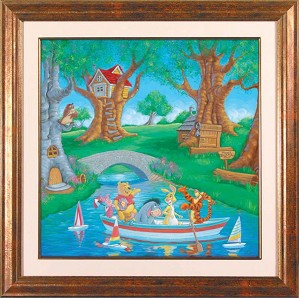 Manuel Hernandez-Friends In The Woods - From Disney Winnie the Pooh