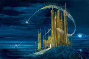 Peter / Harrison Ellenshaw-The Gold Castle